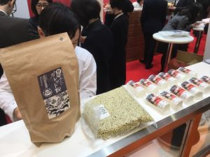 FOODEX JAPAN(フーデックスジャパン)フランスブースにて、越前ふくいガレット粉をご使用いただきました。