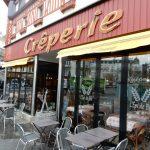 レンヌ駅前クレープリー レピ・デ・ブレ(Crêperie L'Epi de Blé)は、生シードルと白めのガレットが楽しめる。│ガレット(Galette)の本場フランスを巡る旅⑪