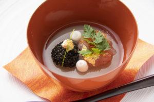 ナベノイズム渡辺シェフによる、福井県産食材を使用した料理講習会に参加させていただきました。